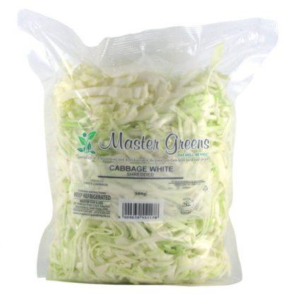 cabbage white shredded 500g