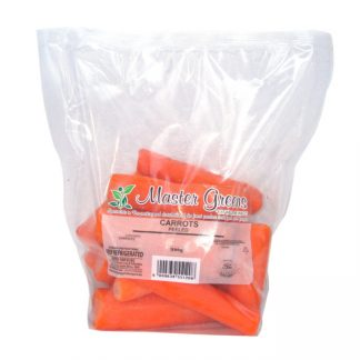 carrots peeled 500g