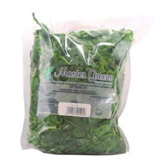 spinach shredded 250g